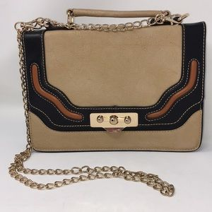 New Amelie Bianco block bag chain strap
